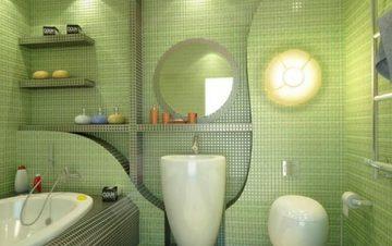 Защо да направим банята си в зелено? – Credit Consult