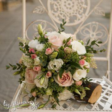 Булчински букет   Алиша   Top Flowers