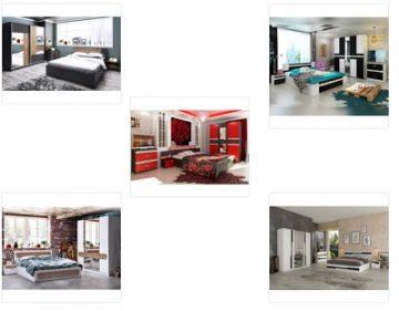 Спални мебели комплекти
